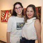 """Maria Luisa e Cristiana Carneiro 150x150 - LIDE Ceará faz preview de exposição """"Leonilson por Antônio Dias"""""""
