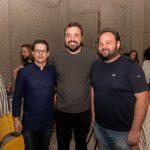 Paulo BarataIgor Juaçaba e Davi Pontes 150x150 - Livro de Joca Reiners Terron é lançado no Porto Iracema