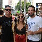 Rafael Barros Natalia Burlamaqui e Rafael Lins 2 150x150 - Moleskine inicia programação de pré-carnaval ao som de DJs
