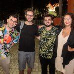 Rafael Barros Osmar Gonçalves Ian Belem e Iana Soares 150x150 - Livro de Joca Reiners Terron é lançado no Porto Iracema
