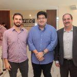Renan Sampaio Yuri Torquato e  150x150 - FIEC recebe Rogério Simonetti em palestra para convidados