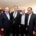 Ricardo Cavalcante Erinaldo Dantas Candido Albuquerque e Beto Studart 150x150 - FIEC recebe Rogério Simonetti em palestra para convidados