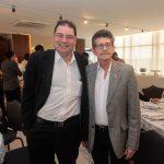 Roberto Ramos e Agostinho Alcantara 150x150 - FIEC recebe Rogério Simonetti em palestra para convidados