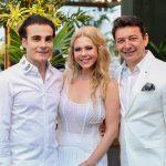 Rodrigo Maia Branca e Racine Mourão 150x150 - Branca e Racine Mourão comemoram aniversário com white party