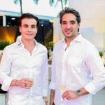 Rodrigo Maia e Rodrigo Porto 150x150 - Branca e Racine Mourão comemoram aniversário com white party