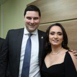 Rodrigo Martiniano e Kamile Castro 150x150 - Kamile Castro é empossada juíza do TRE-CE