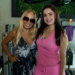 Sheyla e Odalesia Carvalho 150x150 - Volvo GNC Suécia realiza café da manhã especial na CB Fitness