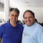 Silvio Palacio e Marcos Viveiros 150x150 - Audi Center Fortaleza recebe clientes com feijoada