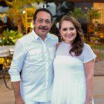 Tadeu e Rosângela Oliveira 150x150 - Branca e Racine Mourão comemoram aniversário com white party