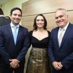 Tiago Asfor Kamile Castro e Helio Parente 150x150 - Kamile Castro é empossada juíza do TRE-CE
