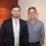 """Victor Perlingeiro e Haim Erel 150x150 - LIDE Ceará faz preview de exposição """"Leonilson por Antônio Dias"""""""