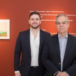 """Victor e Max Perlingeiro 150x150 - LIDE Ceará faz preview de exposição """"Leonilson por Antônio Dias"""""""