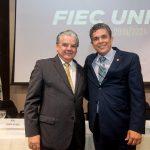 Chico Esteves e Marco Túlio Vasconcelos 150x150 - Universidade Mackenzie chega a Fortaleza com solenidade na FIEC