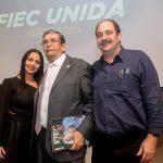 Dana Nunes Fernando Menezes e Paulo André Sampaio  150x150 - Universidade Mackenzie chega a Fortaleza com solenidade na FIEC