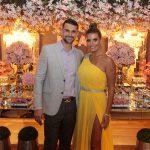 Dimas e Anelisa Barreira 150x150 - Aniversário de Anelisa Barreira marca a noite de sábado