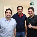 Eleno Damasceno Romario Lopes e Pedro Vieira 150x150 - Flash Imobiliário da Lopes Immobilis discute resultados de janeiro