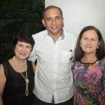 Jaqueline Cunha Marcos Farias e Gorete Cunha 150x150 - Jaqueline Maia comemora aniversário em clima carnavalesco