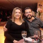 Karine e Sanzio Teixeira 150x150 - Aniversário de Anelisa Barreira marca a noite de sábado
