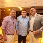 Mário Albuquerque Antonio Ney e Paulo Magalhães 150x150 - Aniversário de Anelisa Barreira marca a noite de sábado