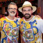 Marcos Tardin e Clóvis Holanda 150x150 - Bloquinho da Advance anima ruas da Praia de Iracema