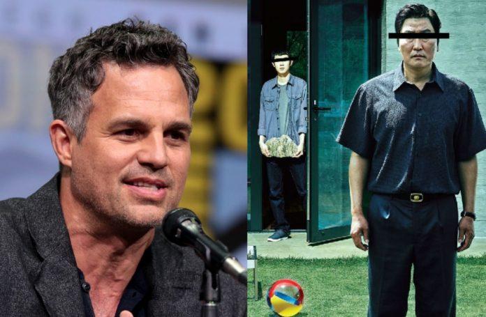 """Mark Ruffalo é cotado para série de """"Parasita"""" na HBO"""