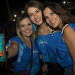 Renata Parente Naila Araújo e Andresa Amaro 150x150 - Meu Bloquinho tem Léo Santana, Mariana Fagundes e Eric Land em festa à beira-mar
