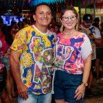 Ricardo Mozart e Elita Cavalcante 150x150 - Bloquinho da Advance anima ruas da Praia de Iracema