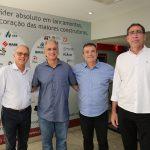 Rommel Barbosa Stenio Martins Ricardo Bezerra e Gerardo Jereissati 150x150 - Flash Imobiliário da Lopes Immobilis discute resultados de janeiro