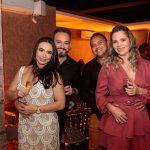 Tatiana Ticiano Carvalho Edson Freitas e Hélida Souza 150x150 - Aniversário de Anelisa Barreira marca a noite de sábado