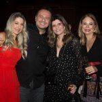 Carmen Rangel, Adriano Nogueira, Luciana Campos E Milena Lima