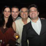 Clarissa Sendra E Márcio Calux, Alfredo Gurjão E Pipo