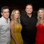 Claudio Costa, Cintia Rangel, Adriano Nogueira E Carmen Rangel