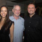 Giselle Bezerra, Ciro Gomes E Adriano Nogueira