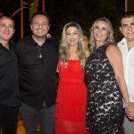 Roger Pouchain, Adriano Nogueira E Carmen Rangel, Rochele E Carlos Holanda