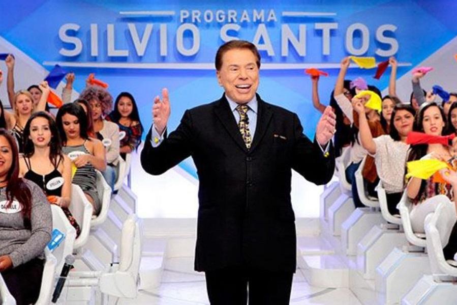 Silvio Santos E Plateia