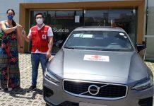 GNC Suécia Volvo E Cruz Vermelha