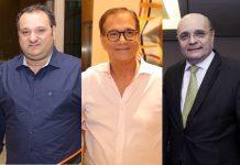 Patriolino Dias De Sousa, Beto Studart E Fernando Cirino Gurgel