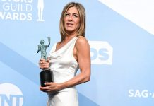 Jennifer Aniston No SAG 2020