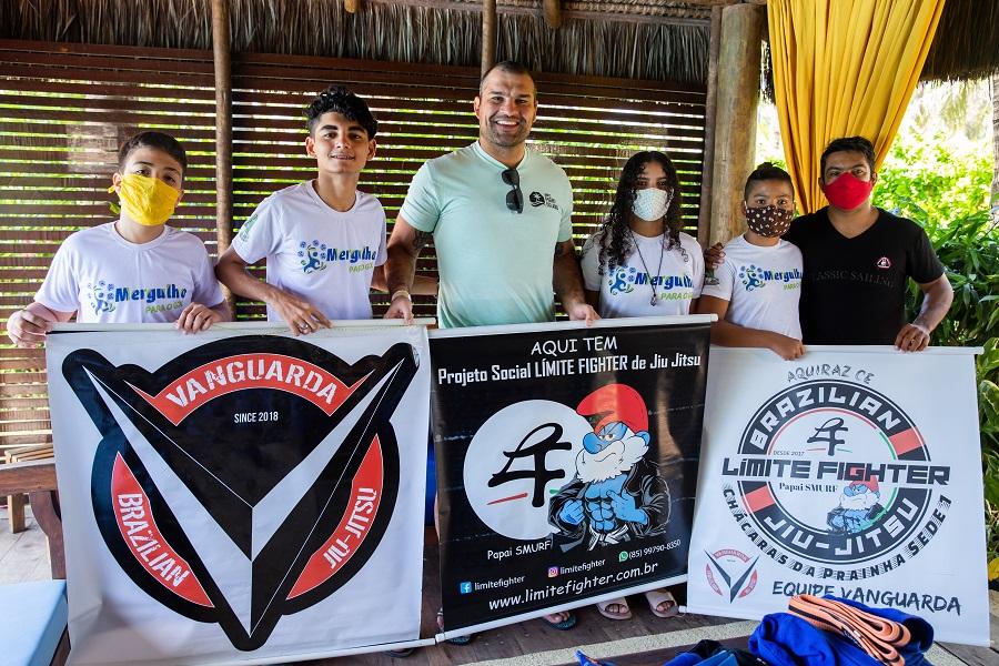 Shogun E Participantes Do Projeto Limitefighter