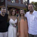 Élcio Batista, Luciana Sousa, Carmen Rangel E Adriano Nogueira