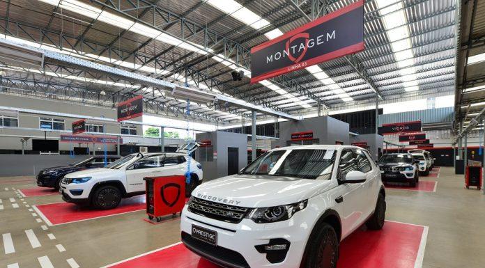 Linha De Produção Jaguar Land Rover