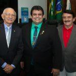 Paulo Alberoni, Jorge Pinheiro E Alcy Pinheiro