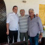 Carlos Araruna, Dinho Correia E Werton Pinheiro