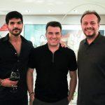 Lucas, Danilo Dias E Adriano Nogueira