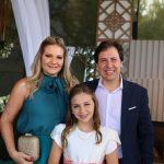 Rachel Cavalcante, Sara Cavalcante E Danilo Cavalcante