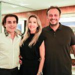 Rodrigo Maia, Carmen Rangel E Adriano Nogueira
