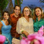 Tatiana Machado, Francisco Campelo, Marise Castelo Branco E Samdra Lazera