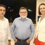Aluísio Filho, Marcos Albuquerque E Miriam Pereira