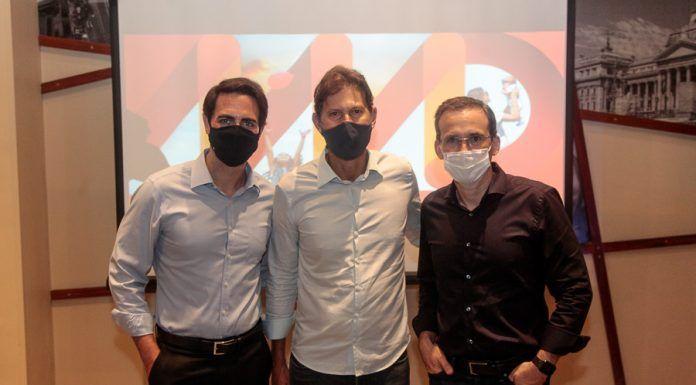 Diego Villar, Gustavo Dubeux E Fernando Amorim_