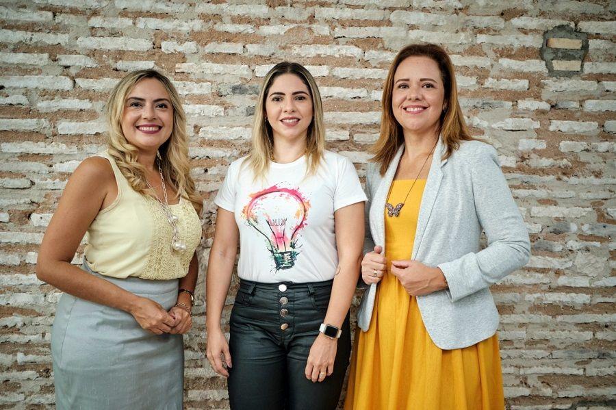 Mônika Vieira, Rafaelle Sobreira E Aletéia Lopes